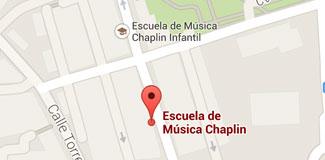 Mapa Escuela Chaplin