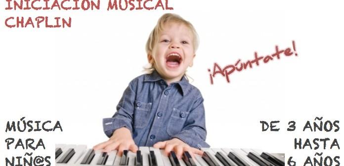 INICIACIÓN MUSICAL APÚNTATE CHAPLIN