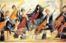 Art- Violin-Cello Players