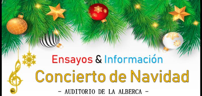 Ensayos & Info – Concierto de Navidad